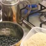 お正月の黒豆〜1鍋目、仕掛かり