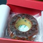 天拝山と黒豆のケーキ  from  ニノカニーノ