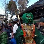 2/3 護王神社 豆撒式の「撒きびと」になります!