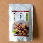 ゆで豆ミックス、便利です(^^)