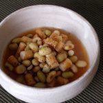 「ひたし豆」のパートナー研究