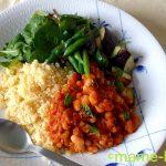 15分おかず「白いんげんのトマト煮」&ランチプレート