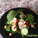 ゴジベリーとひよこ豆の親子サラダ