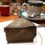 らん布袋の豆腐ケーキ