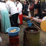 護王神社の亥の子餅