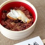 3月15日「赤飯の日」に、吉兆さんの鯛赤飯