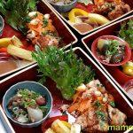 原田博行さんのショーケース・ショーで料理番